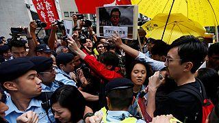 Гонконг встретил официального китайского представителя беспорядками