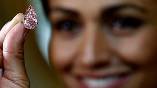 Rare 'Unique Pink' diamond dazzles buyers with record-breaking auction sale