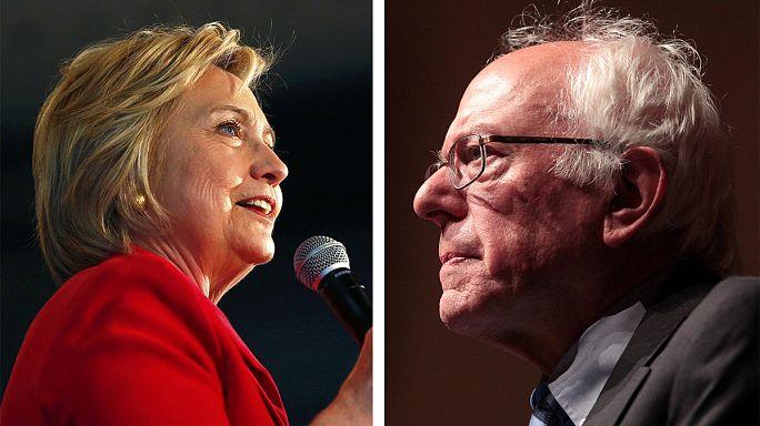 Clinton haarscharf vorn in Kentucky, Sanders siegt in Oregon
