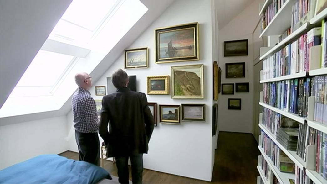 Egy műgyűjtő, aki valóban rajong a művészetért