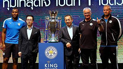 Leicester City in owners' Thai homeland for tour