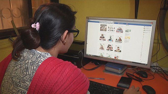 التجارة الإلكترونية ... الحل الأمثل لكثير من النساء في الباكستان