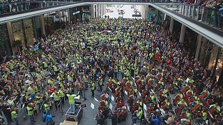 همنوازی بیش از ۹۰۰ نفر در برلین