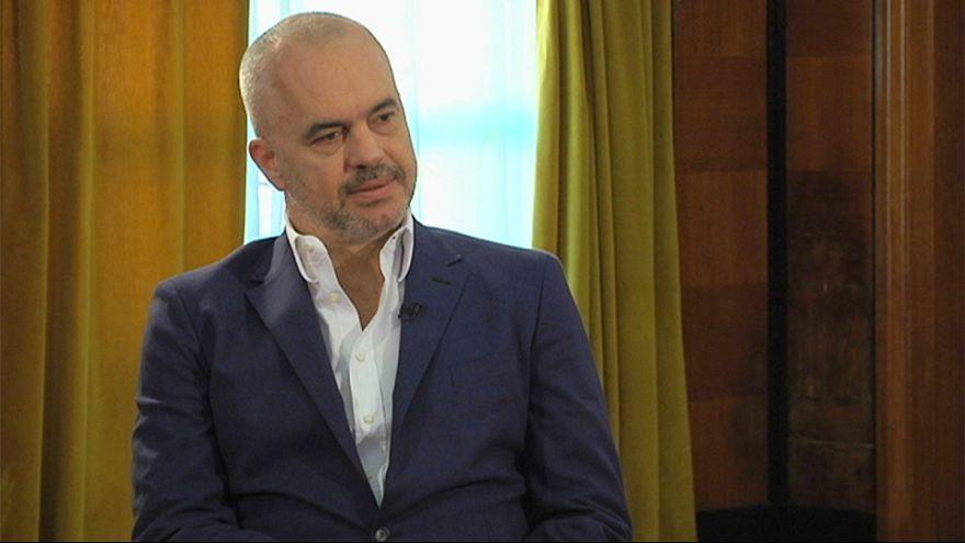 """Edi Rama: """"Albanien ist nicht korrupt und kriminell"""""""