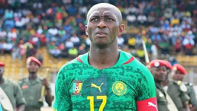 Cameroon's skipper Stephane Mbia dropped from squad