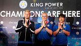 Leicester City feiert Meisterschaft in Thailand