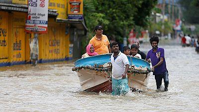 Over 100 feared dead as huge landslides bury Sri Lankan villages