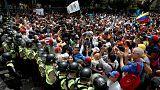 Венесуэла: сторонники оппозиции вновь вышли на улицы