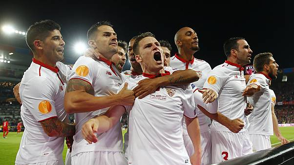 Sevilla strike back to beat Liverpool for record third straight Europa League title