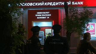 Police end hostage-taking in attempted Moscow bank robbery
