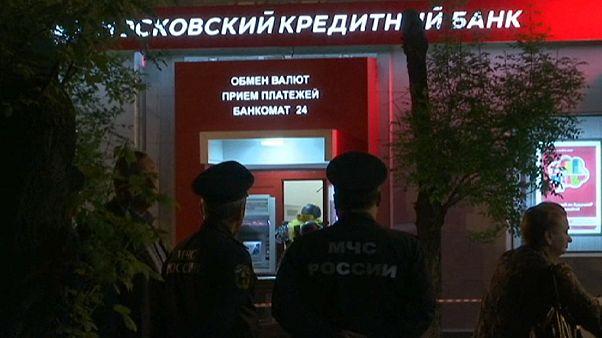 La policia rusa mata a un atracador que había tomado rehenes en un banco de Moscú