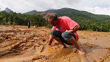 Sri Lanka'da 200 hane toprak altında