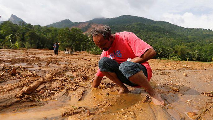 انهيار أرضي يخلف عشرات القتلى في سريلانكا