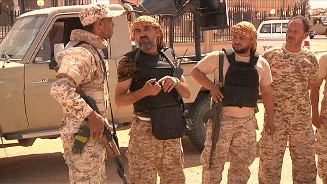 Libya hükümet güçleri DAEŞ'i Sirte'de kuşattı