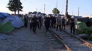 Vuelve la calma a Idomeni tras un nuevo intento de asalto a la frontera