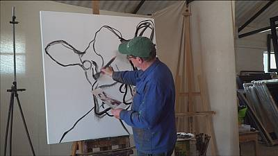 John Marshall: the man who paints cows