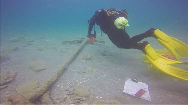 Un tesoro en el puerto antiguo de Cesárea