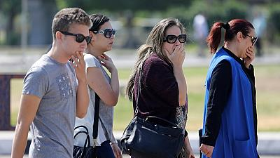Relatives of passengers in crashed EgyptAir flock Cairo airport