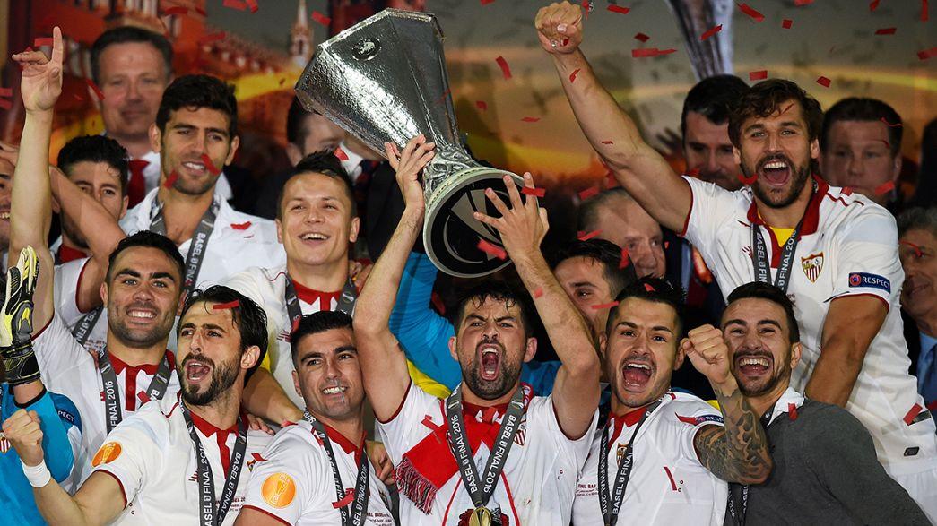 Europa League: Sevilla maintain Spainish club's dominance of European football