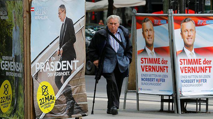Történelmi fordulat várható az osztrák elnökválasztáson vasárnap