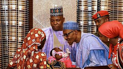 Buhari says rescued Chibok girl to get 'the best care' Nigeria can afford