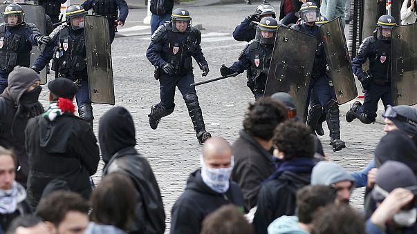 Nueva oleada de manifestaciones en toda Francia contra la reforma laboral de Hollande