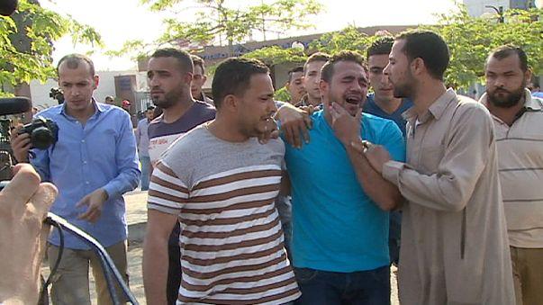 Families wait for news on Egyptair flight MS804