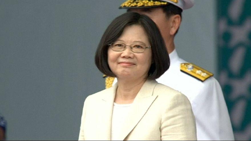 Taïwan : la nouvelle présidente se veut conciliante mais ferme avec Pékin