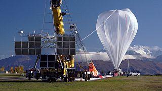 НАСА запустило воздушный шар для исследований околоземного пространства