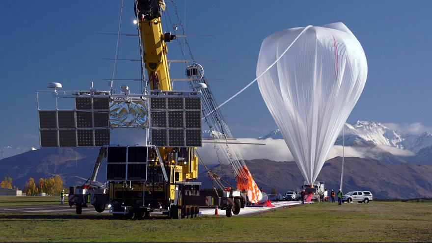 NASA hails launch of super pressure balloon