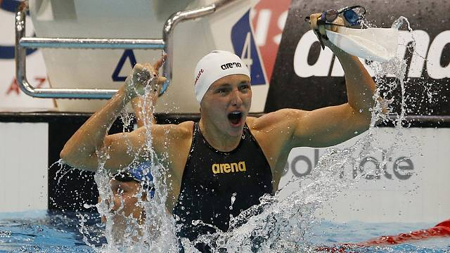 European Aquatics Championships: Hungary's Hosszu claims two gold as Murdoch takes breaststroke title