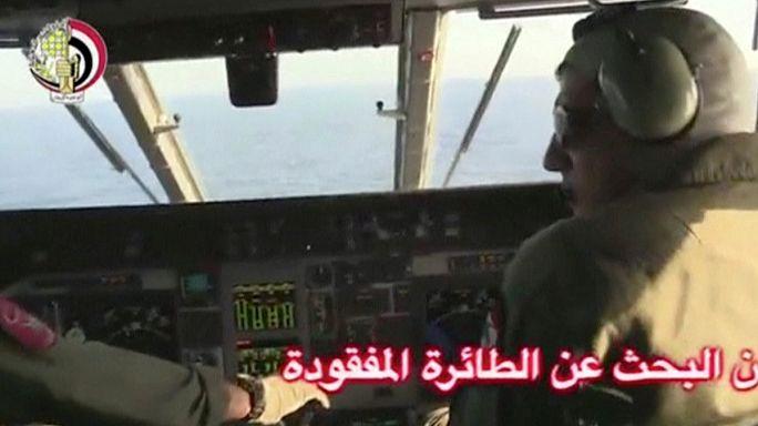 """""""EgyptAir yolcu uçağının enkaz parçaları bulundu"""""""