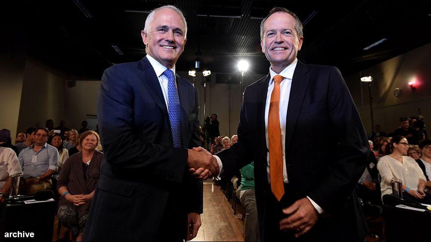 Registro en las oficinas del Partido Laborista australiano a poco más de un mes de las elecciones generales