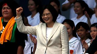 First female president of Taiwan sworn in