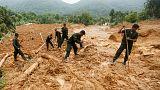 Erdrutsche in Sri Lanka