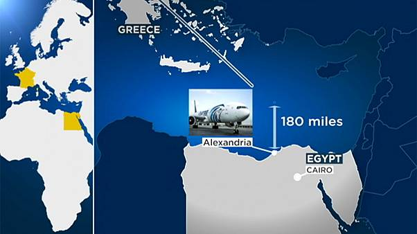 EgyptAir crash: 'debris found' from flight MS804