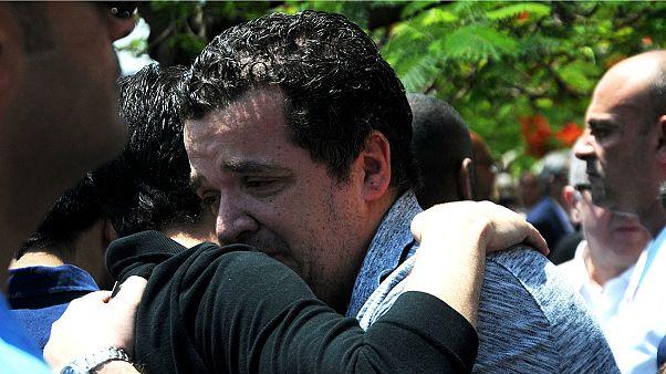 دعا برای آمرزش قربانیان هواپیمای مصری