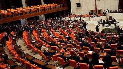 Turkey's pro-Kurdish opposition to fight move to strip MPs of immunity