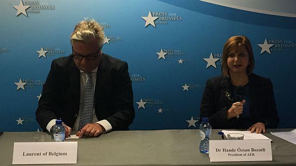 Belçika Prensi Laurent Türk başkana danışman oldu
