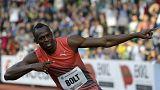 """Bolt """"üzent"""" az ellenfeleknek"""