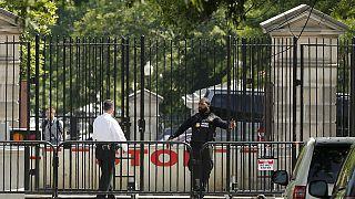 Casa Branca encerrada temporariamente na sequência de disparos ouvidos nas imediações