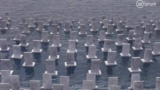 The Sea Cemetery In Memory of Syrian Refugees (Hayata Destek)