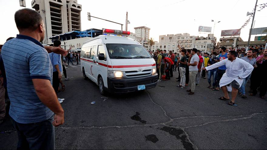 Thousands storm heavily fortified Green Zone in Baghdad