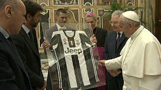 Papst vor italienischem Pokalfinale