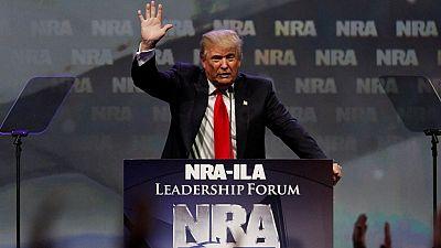 Primaires américaines : Donald Trump obtient le soutien de la NRA