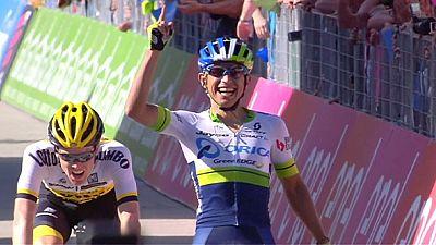Giro: Chaves remporte l'étape ; Kruijswijk nouveau leader