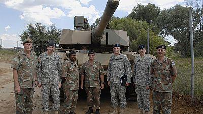 Exercice militaire en Afrique du Sud