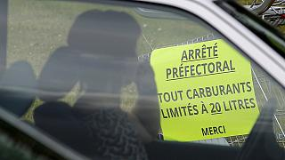 Fuel shortages hit France