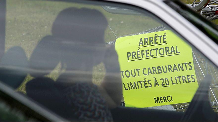 Frankreich: Hamsterkäufe an den Tankstellen