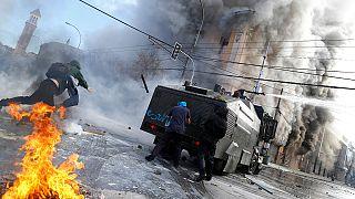 Şili'de iktidara yönelik protestolar artıyor
